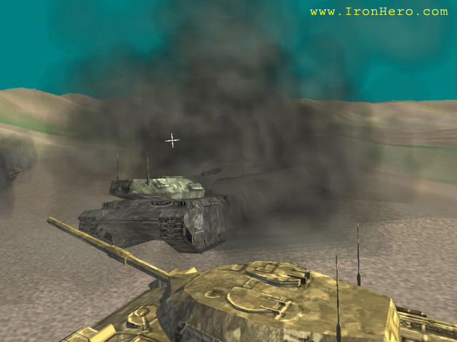 IronHero is real-time 3D tank shooter game with unlimited mission pack and smart enemy AI. As one of tank commanders, you should find and destroy enemy tank platoon. Your teammates will help you to do the job.